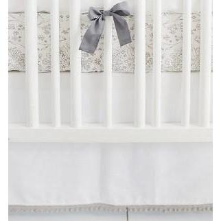 Crib Sheet | Gray Bunny Love Crib Baby Bedding Set-Crib Sheets-Default-Jack and Jill Boutique