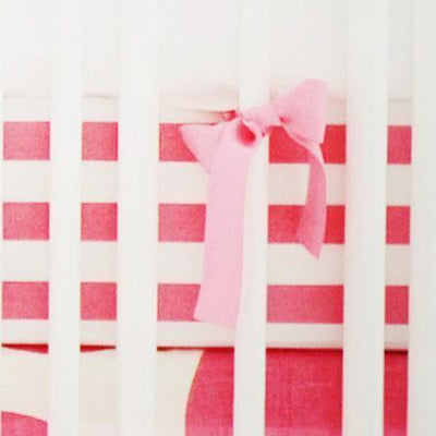 Crib Sheet | Hot Pink Spot On Fuchsia Crib Baby Bedding Set-Crib Sheets-Default-Jack and Jill Boutique
