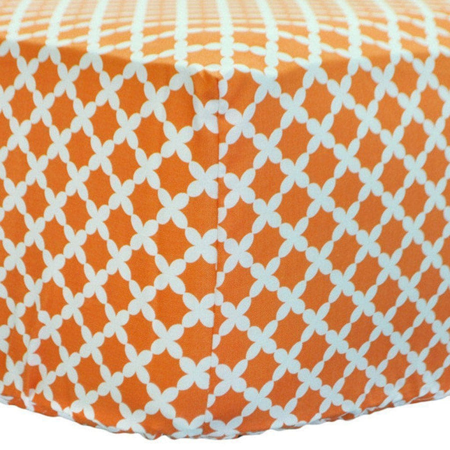 Crib Sheet | Orange Crush Crib Baby Bedding Set