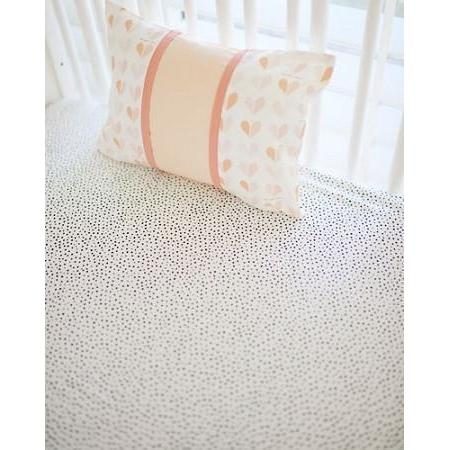 Crib Sheet | Peach Once Upon a Time Crib Baby Bedding Set-Crib Sheets-Default-Jack and Jill Boutique
