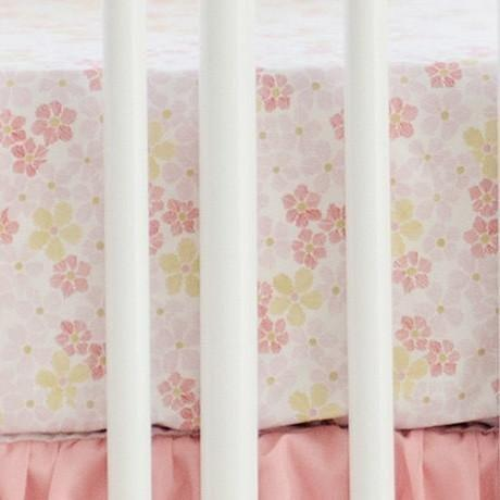 Crib Sheet | Pink Ombre Crib Baby Bedding Set-Crib Sheets-Default-Jack and Jill Boutique