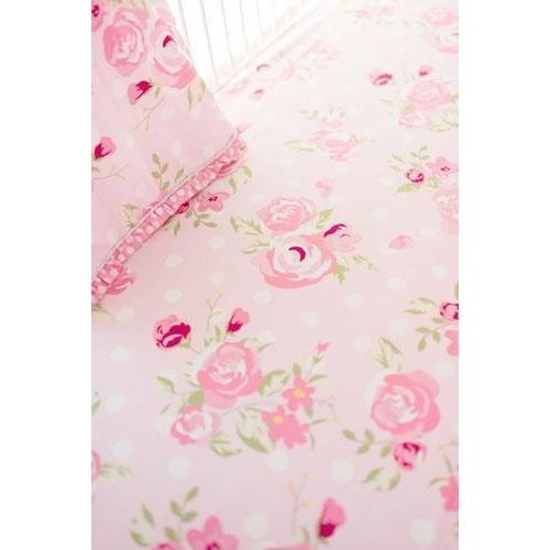 Crib Sheet | Rosebud Lane Floral Crib Baby Bedding Set