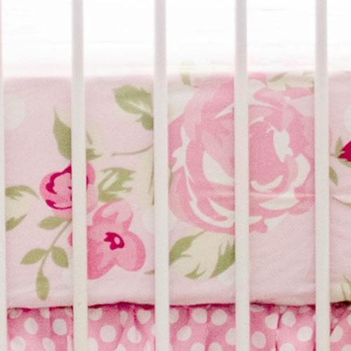 Crib Sheet | Rosebud Lane Floral Crib Baby Bedding Set-Crib Sheets-Default-Jack and Jill Boutique