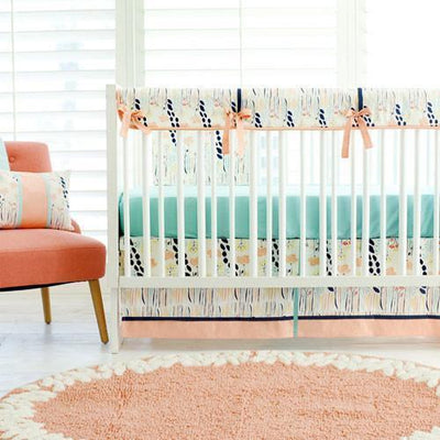 Crib Sheet | Solid Aqua - Summer Grove-Crib Sheets-Default-Jack and Jill Boutique