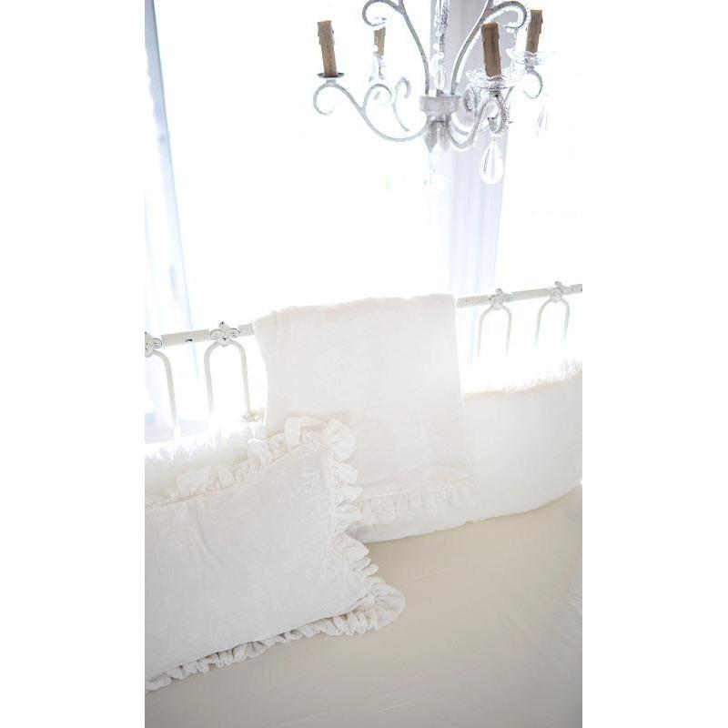 Crib Sheet | Velvet Baby in Ivory Crib Baby Bedding Set