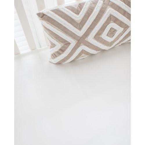 Crib Sheet | Washed Linen in Ecru Stripe Baby Bedding Set-Crib Sheets-Default-Jack and Jill Boutique