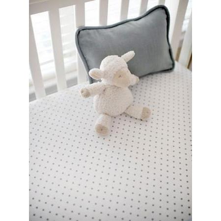 Crib Sheet | Washed Linen in Gray Crib Baby Bedding Set