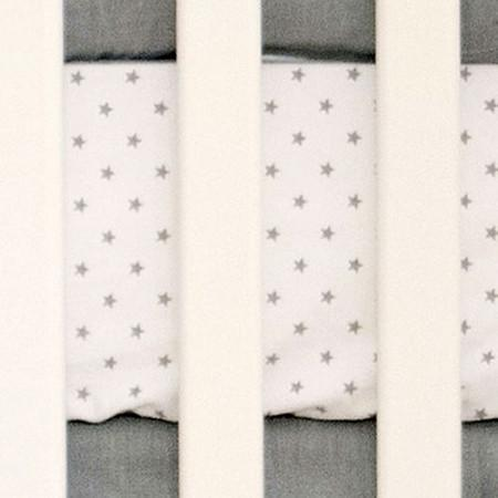 Crib Sheet | Washed Linen in Gray Crib Baby Bedding Set-Crib Sheets-Default-Jack and Jill Boutique
