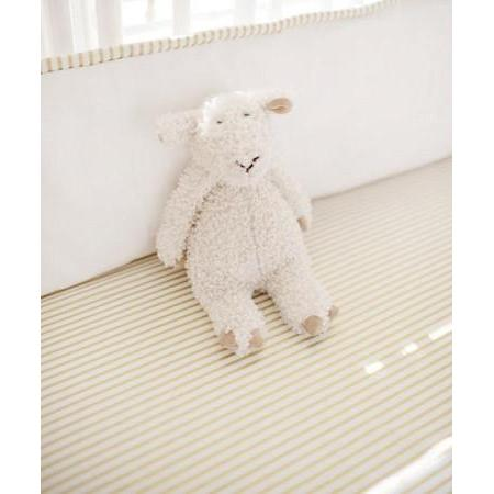 Crib Sheet | White Gold Dust Crib Baby Bedding Set