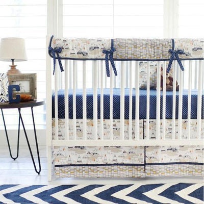 Crib Sheet | Woodland Oak Crib Baby Bedding Set-Crib Sheets-Default-Jack and Jill Boutique