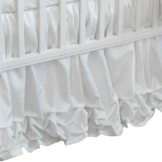 Crib Skirt | Arabesque Luxury Baby Bedding Set-Crib Skirt-Bebe Chic-Jack and Jill Boutique