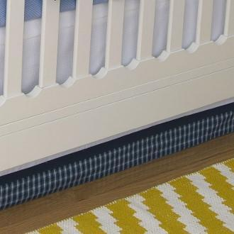 Crib Skirt | Hunter Luxury Baby Bedding Set-Crib Skirt-Jack and Jill Boutique