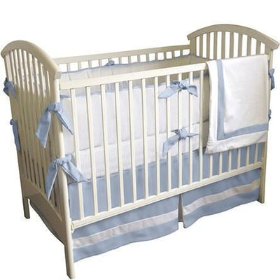 Crib Skirt | Jake Luxury Baby Bedding Set-Crib Skirt-Jack and Jill Boutique