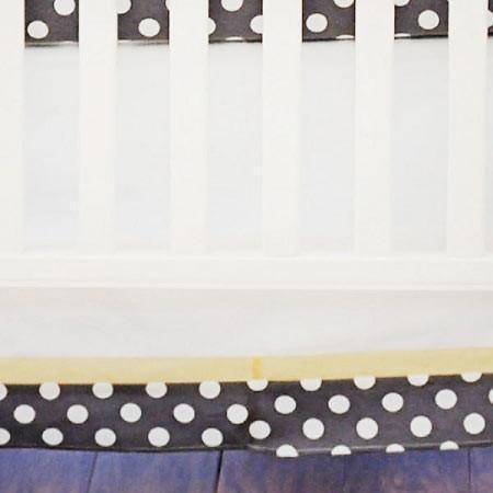 Crib Skirt-Jack and Jill Boutique-Crib Skirt | Jungle Animal Urban Zoo