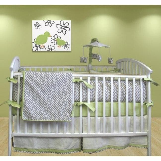 Crib Skirt | Metro Luxury Baby Bedding Set-Crib Skirt-Default-Jack and Jill Boutique