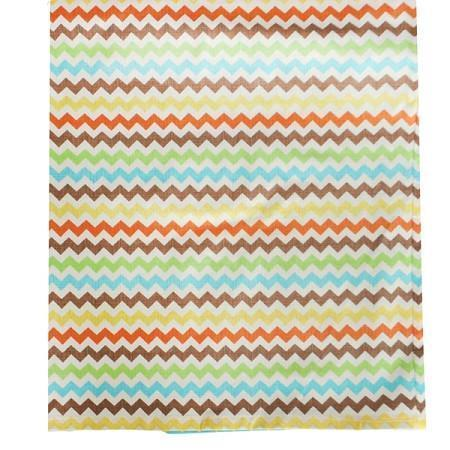 Crib Skirt | Multi Chevron Sante Fe-Crib Skirt-Default-Jack and Jill Boutique