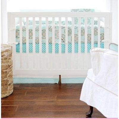 Crib Skirt | Ocean Avenue-Crib Skirt-Jack and Jill Boutique
