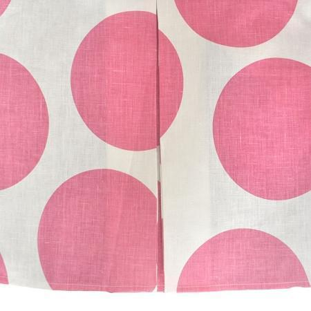 Crib Skirt | Pink Dot Hot Pink Spot On Fuchsia-Crib Skirt-Jack and Jill Boutique