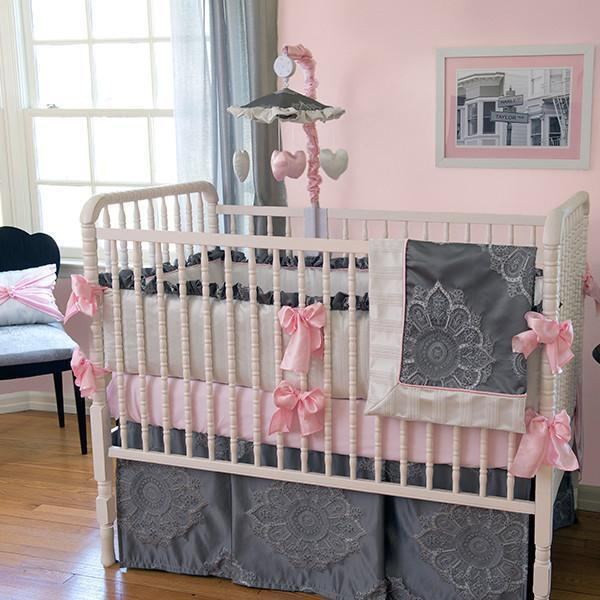 Crib Skirt | Sophia Luxury Baby Bedding