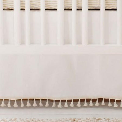 Crib Skirt | Wander in Pink-Crib Skirt-Jack and Jill Boutique