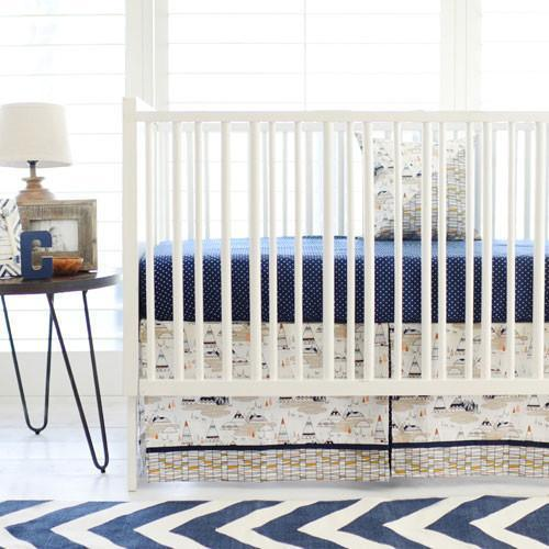 Crib Skirt | Woodland Oak