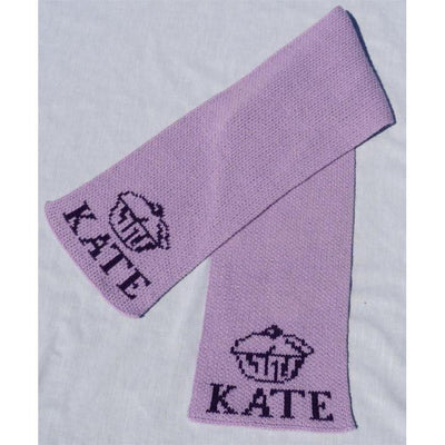 Cupcake Personalized Knit Scarf-Scarves-Default-Jack and Jill Boutique
