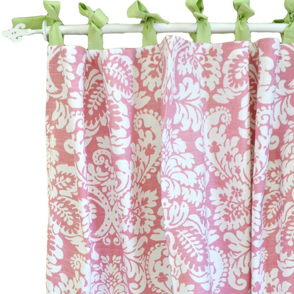 Curtain Panels | Bloom in Pink-Curtain Panels-Default-Jack and Jill Boutique