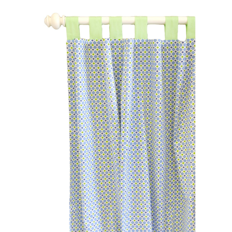 Curtain panels | Boardwalk Blue and Green
