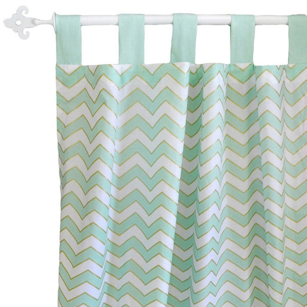 Curtain panels | Gold Rush in Mist-Curtain Panels-New Arrivals-Jack and Jill Boutique