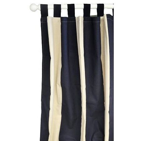 Curtain Panels | Happy Camper Navy and White-Curtain Panels-Default-Jack and Jill Boutique