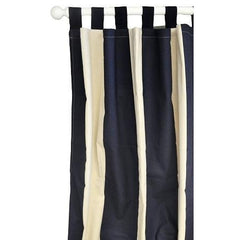 Curtain Panels | Happy Camper Navy and White-Curtain Panels-New Arrivals-Jack and Jill Boutique
