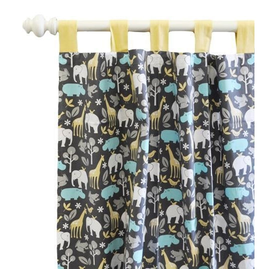 Curtain Panels | Jungle Animal Urban Zoo-Curtain Panels-New Arrivals-Jack and Jill Boutique