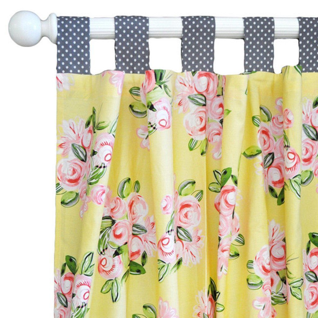 Curtain Panels | Lemon Drop-Curtain Panels-Default-Jack and Jill Boutique