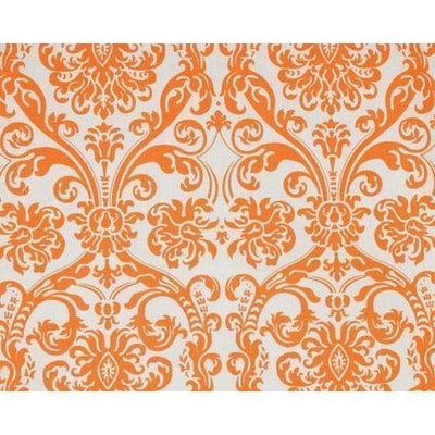 Curtain Panels Pair with Lining | Abigail Floral Print-Curtain Panels-Mandarin-Jack and Jill Boutique