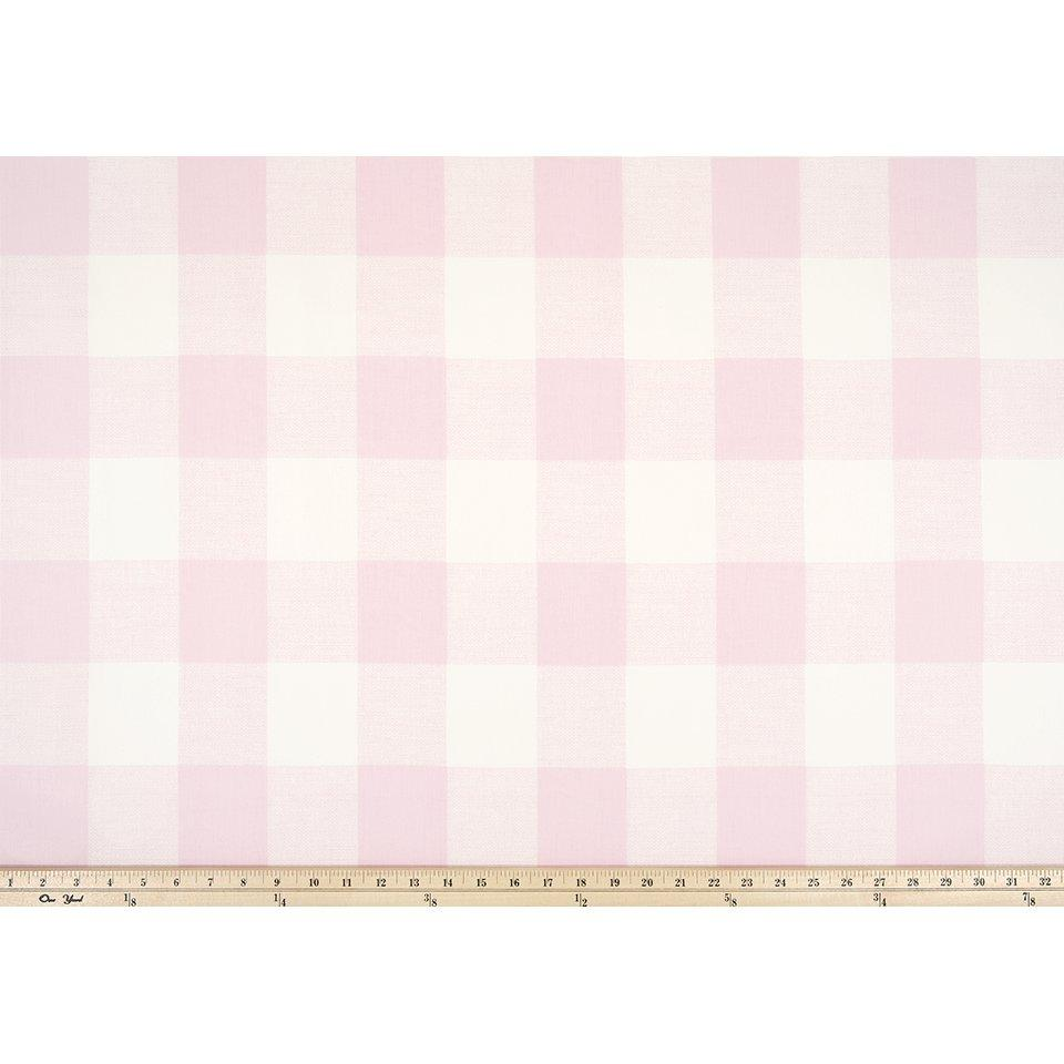Red and White Anderson Check Drapery Panels Pair 2 Panels Premier Prints Lipstick Anderson Fabric