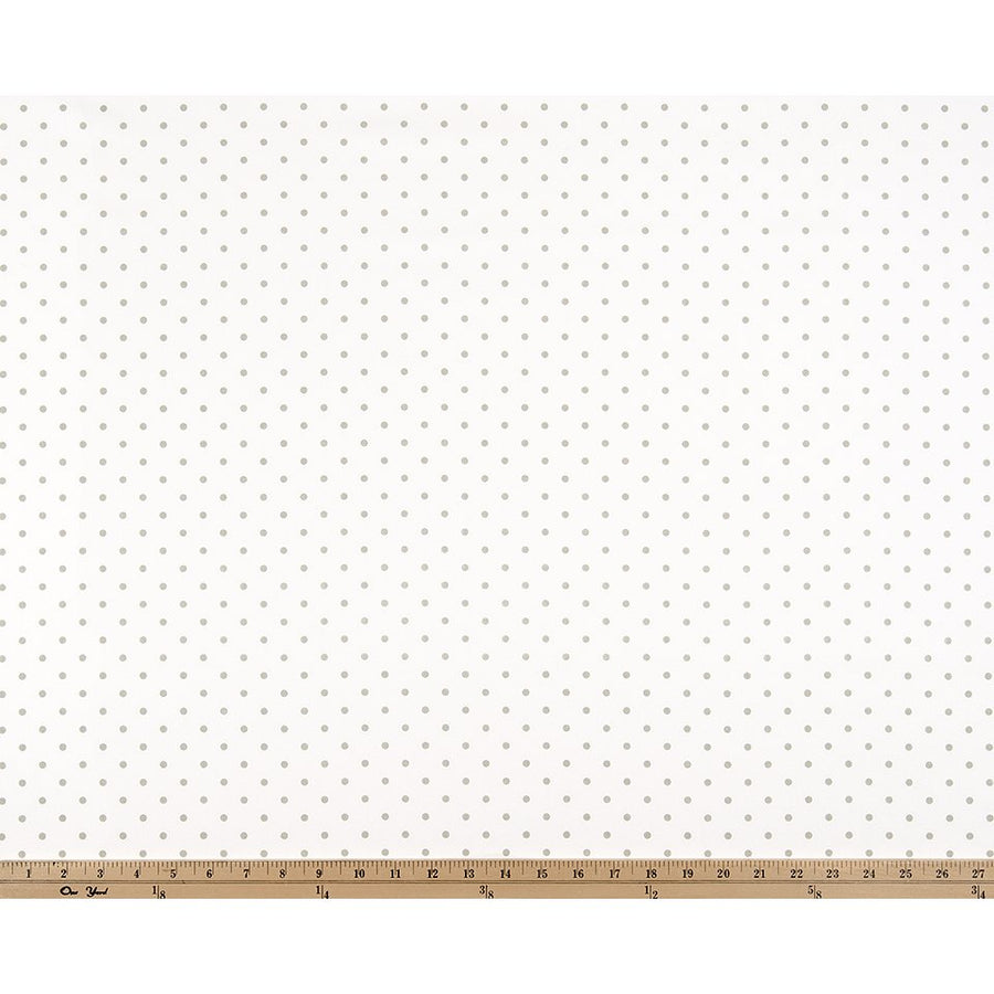 Curtain Panels Pair with Lining | Mini Dot Fabric Print-Curtain Panels-White/Chartreuse twill-Jack and Jill Boutique