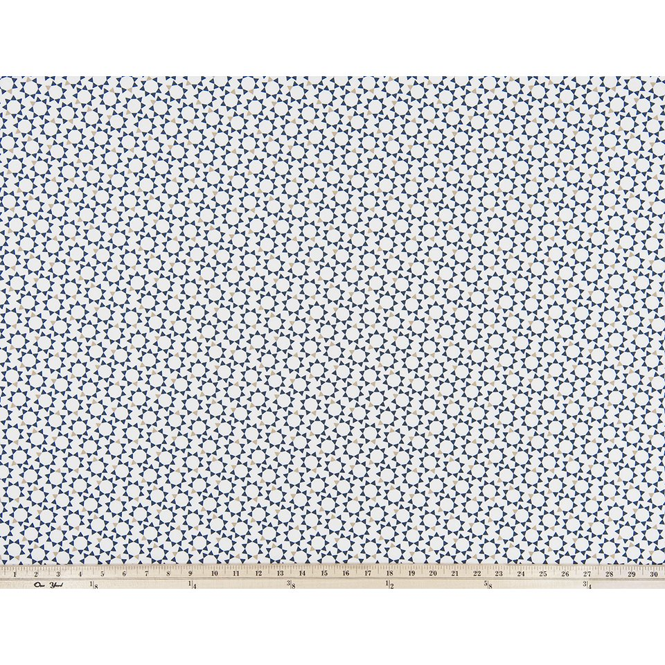 Curtain Panels Pair with Lining | Troy Fabric Print-Curtain Panels-Spruce Blue-Jack and Jill Boutique