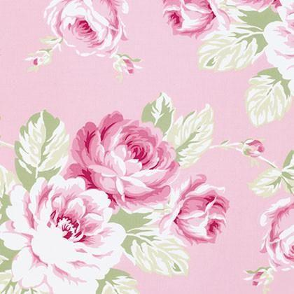 Curtain Panels | Pink Floral Shabby Chic Roses-Curtain Panels-Bold Bedding-Jack and Jill Boutique