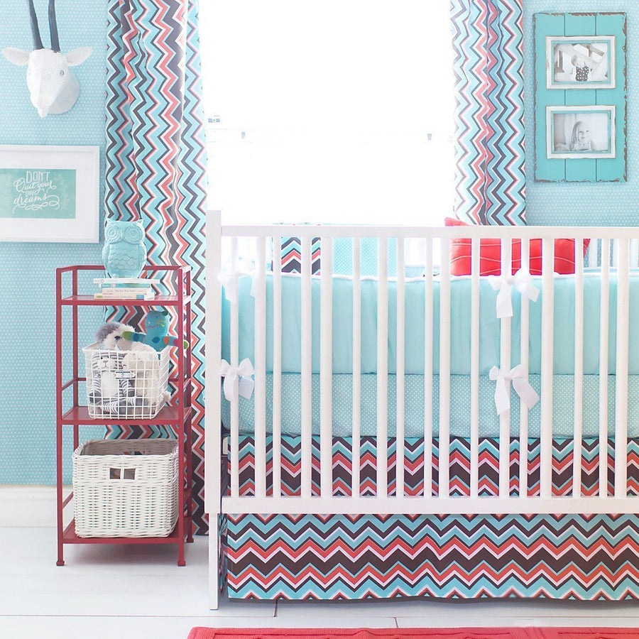 Curtain panels | Piper in Aqua