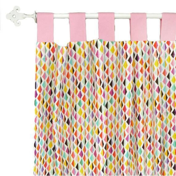 Curtain Panels | Rhapsody in Pink-Curtain Panels-New Arrivals-Jack and Jill Boutique