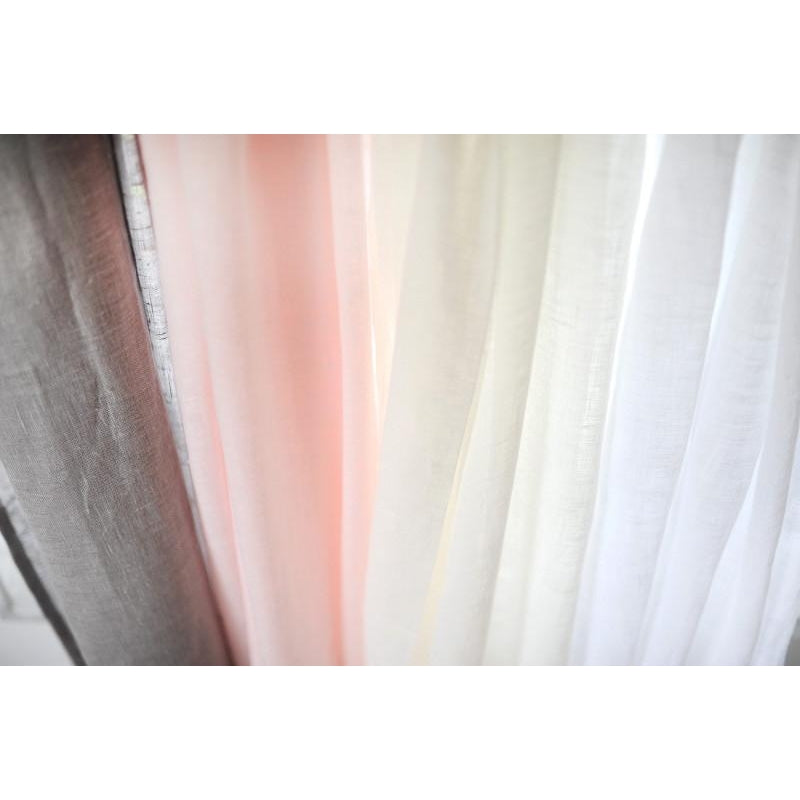 Curtain Panels | Soft Whisper Linen-Curtain Panels-Antique White-Jack and Jill Boutique