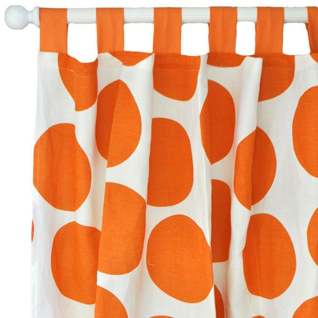 Curtain panels | Spot On Tangerine-Curtain Panels-Default-Jack and Jill Boutique