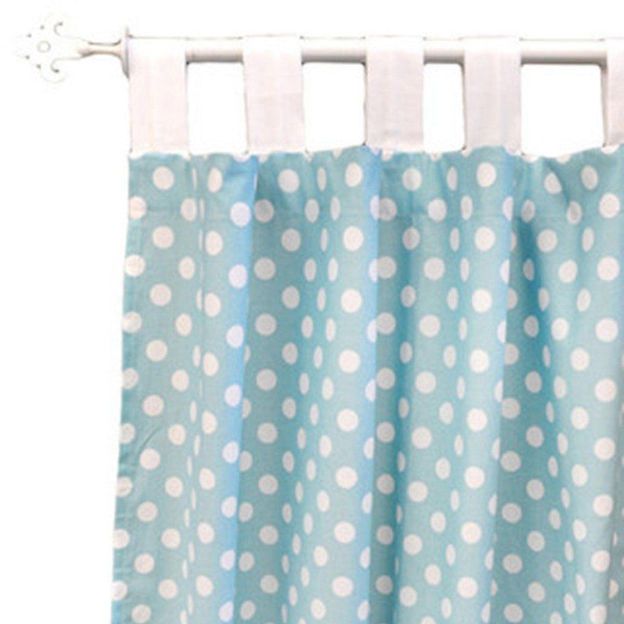 Curtain panels | Zig Zag Baby in Aqua