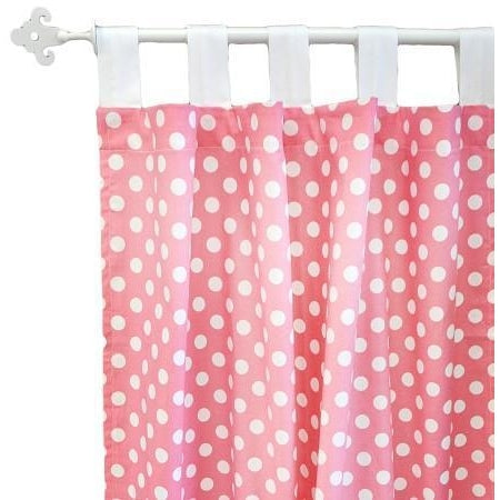 Curtain Panels | Zig Zag Baby in Hot Pink-Curtain Panels-Jack and Jill Boutique