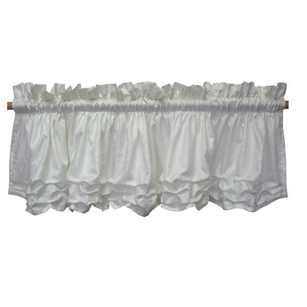 Curtain Valance | Arabesque Luxury Baby Bedding Set-Curtain Valance-Jack and Jill Boutique