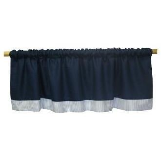 Curtain Valance | Luke Luxury Baby Bedding Set-Curtain Valance-Jack and Jill Boutique