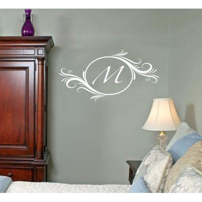 Delightful Elements Initial Wall Decal-Decals-Jack and Jill Boutique