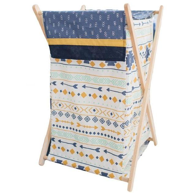 Nursery Hampe | Desert Sky Crib Bedding Set-Hamper-Default-Jack and Jill Boutique