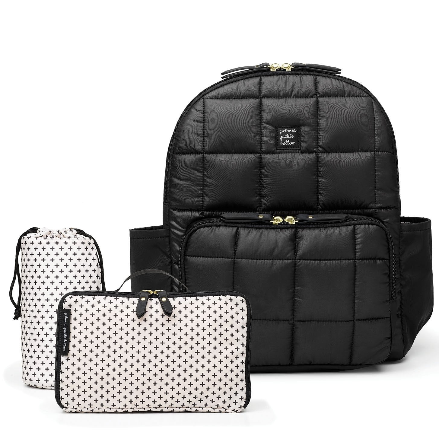 District Backpack 5-Piece Set in Shadow-Diaper Bags-Jack and Jill Boutique