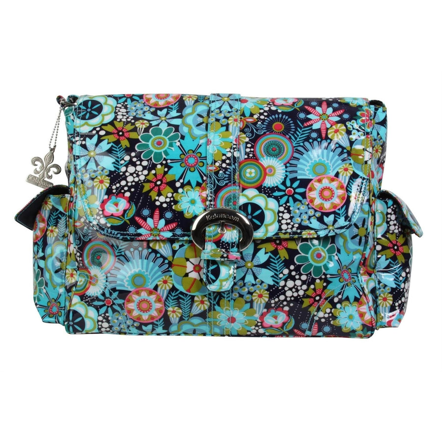 Dixie Daisies Coated Buckle Diaper Bag | Style 2960 - Kalencom-Diaper Bags-Default-Jack and Jill Boutique